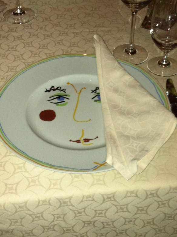 Circo dinnerware, Bellagio Hotel, Las Vegas - tangledpasta.net