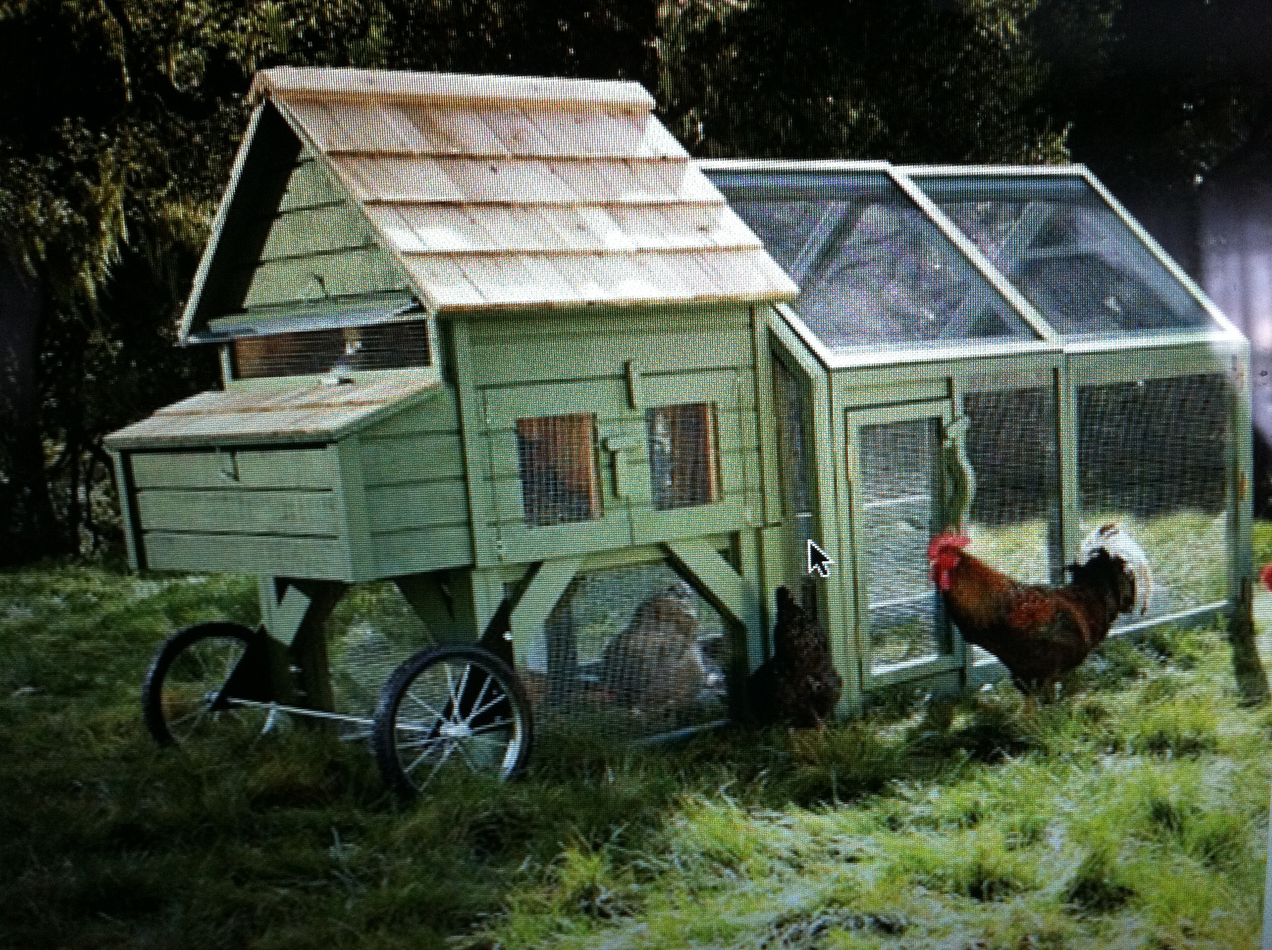 Chicken coops for sale williams sonoma for Fancy chicken coops for sale