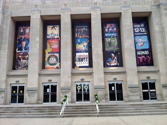 IU Auditorium on the Indiana University campus - tangledpasta.net