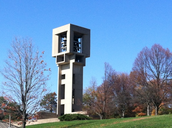 The Bell Tower on the IU Bloomington campus, steps away from my old graduate school apartment - tangledpasta.net