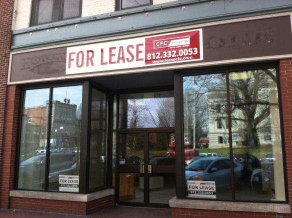 The end of an era, the now defunct Howard's Bookstore - tangledpasta.net