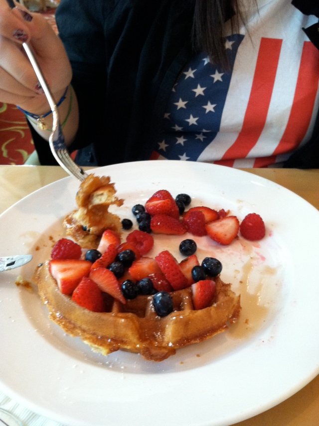 4th of July Birthday Girl's Breakfast! - tangledpasta.net