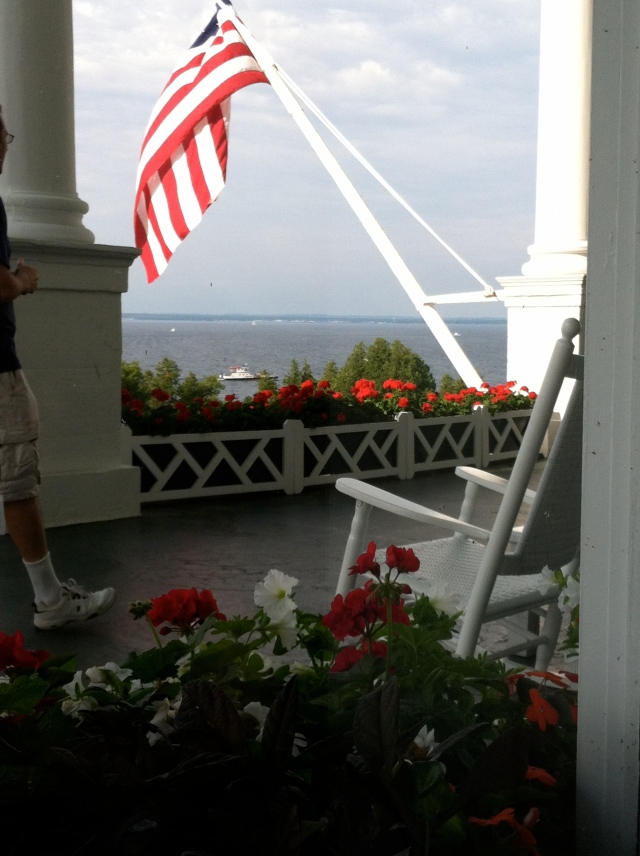 Summer's end, The Grand Hotel, Mackinac Island - tangledpasta.net