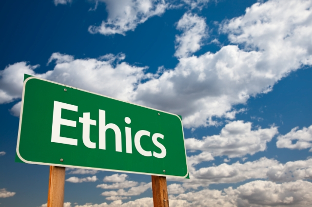 Ethics and Integrity, both of which we should have - tangledpasta.net