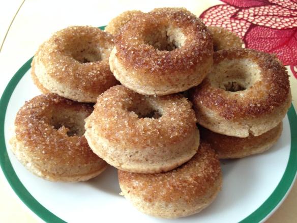 We made tangledpasta.net donuts from a Barefoot Contessa recipe-tangledpasta.net