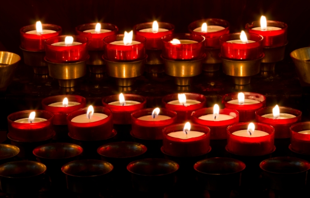 May the candles burn as brightly as did his presence in his family's lives - tangledpasta.net