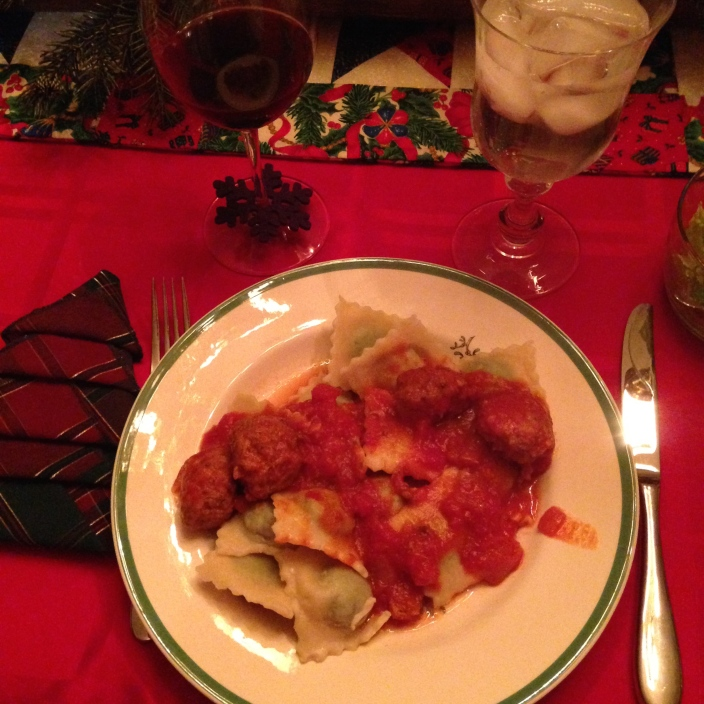 Mama's homemade ravioli Christmas dinner lives on with our family. - tangledpasta.com