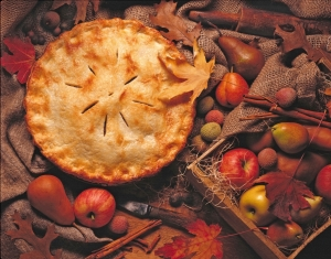 Nothing hails the onset of autumn as does warm apple pie.-tangledpasta.net
