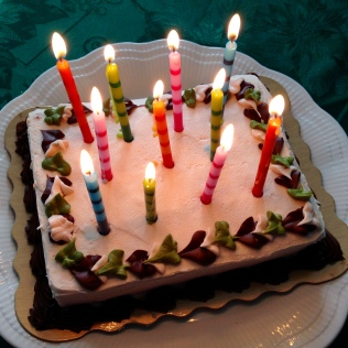Recently I had a birthday. The candles on the cake reminded me of Spirited Constellations, of my books. It is the way my mind works. - tangledpasta.net