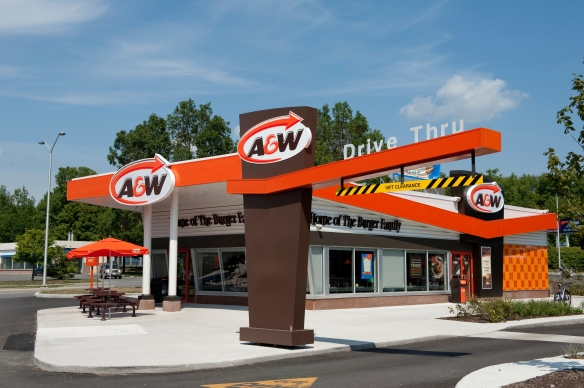 This new A&W in Ottawa, Canada, is much nicer than the one in my hometown.-tangledpasta.net