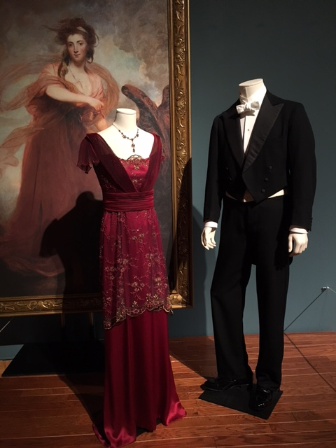 Mary and Matthew Crawley's Evening Attire=tangledpasta.net
